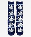 HUF Plantlife calcetines con lavado azul