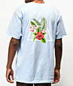 HUF Tropical camiseta azul claro