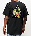 HUF Tropical camiseta negra