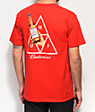 HUF x Budweiser Cheers Red T-Shirt
