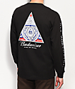 HUF x Budweiser Triangle camiseta negra de manga larga