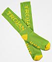 HUF x Trojan Lime Crew Socks