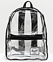 Herschel Supply Co. Classic XL mochila negra y transparente