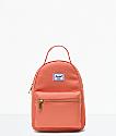 Herschel Supply Co. Nova Apricot Brandy Mini Backpack