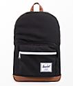 Herschel Supply Co. Pop Quiz Black  & Tan 22L Backpack