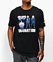 In4mation x One Punch Man Boros camiseta negra