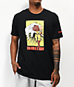 In4mation x One Punch Man camiseta negra
