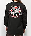 Independent x Thrasher Pentagram camiseta negra de manga larga