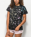JV By Jac Vanek Take Me Home Black Tie Dye T-Shirt