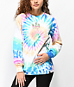 JV by Jac Vanek Don't Be A Prick Tie Dye Long Sleeve T-Shirt