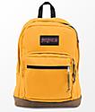 JanSport Right Pack English Mustard mochila amarilla