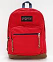 JanSport Right Pack mochila con cinta roja y azul