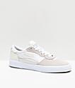Lakai Cambridge White Suede Skate Shoes