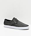 Lakai Daly zapatos de skate de textil negro