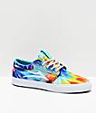Lakai Griffin Tie Dye Canvas Skate Shoes