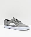 Lakai Griffin zapatos skate de textil gris