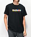 Lakai x Chocolate Flags camiseta negra