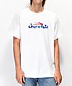 Lakai x Chocolate Flare camiseta blanca
