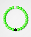 Lokai Dead Sea Neon Green Bracelet