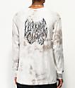 Lurking Class By Sketchy Tank Branch Logo White Tie Dye Long Sleeve T-Shirt