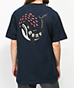 Lurking Class By Sketchy Tank Out For Blood camiseta azul marino