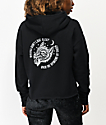 Lurking Class by Sketchy Tank Class Wolves sudadera con capucha corta negra