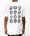 Lurking Class by Sketchy Tank Faces White T-Shirt
