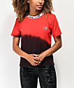 Lurking Class by Sketchy Tank Red Tie Dye T-Shirt