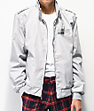 Members Only Iconic Racer chaqueta gris claro