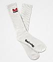 Moodswings Quantum Leap White Crew Socks