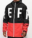Neff Daily 10K chaqueta negra y roja