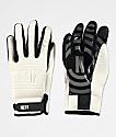 Neff Daily White & Black Pipe Snowboard Gloves