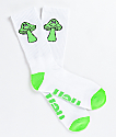 Neff Promo Fun Guy White Crew Socks