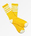Neff Promo calcetines blancos y ámbar