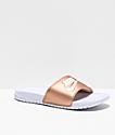 Nike SB Benassi sandalias en bronce