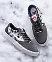 Nike SB Chron SLR Dorm Room Atmosphere zapatos de skate grises
