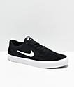 Nike SB Chron SLR zapatos de skate en negro y blanco