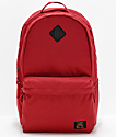 Nike SB Icon mochila roja carmesí de 26L