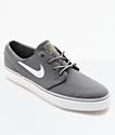 Nike SB Janoski Canvas Grey & White Skate Shoes