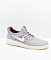 Nike SB Nyjah Free Atmosphere Grey & Berry Skate Shoes