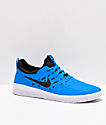 Nike SB Nyjah Free Blue & White Skate Shoes