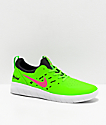 Nike SB Nyjah Free Watermelon Green & Pink Skate Shoes