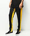 Ninth Hall Nordberg Black & Yellow Track Pants