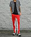 Ninth Hall Nordberg pantalones de chándal en rojo y blanco