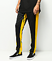 Ninth Hall Nordberg pantalones de chandál en negro y amarillo