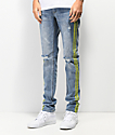 Ninth Hall Rogue Celcius jeans ajustados reflectantes