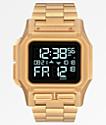 Nixon Regulus SS reloj digital de oro