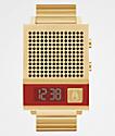 Nixon The Dork Too Gold Digital Watch