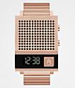 Nixon The Dork Too Rose Gold Digital Watch