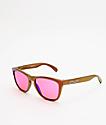Oakley Frogskins Shift Prizm Trail gafas de sol rojas y doradas